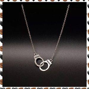 Jewelry - Freedom Handcuff Pendant Necklace